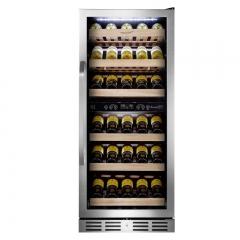 维诺卡夫 PRO128B 酒窖级压缩机恒温红酒柜|官方正品|