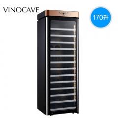 Vinocave/维诺卡夫 JC-166A 阿尔法 红酒柜(2020新品上市) 深空灰