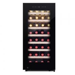 维诺卡夫(Vinocave)尼斯1978系列 CWC-100A压缩机恒温红酒柜90L容量  官方正品